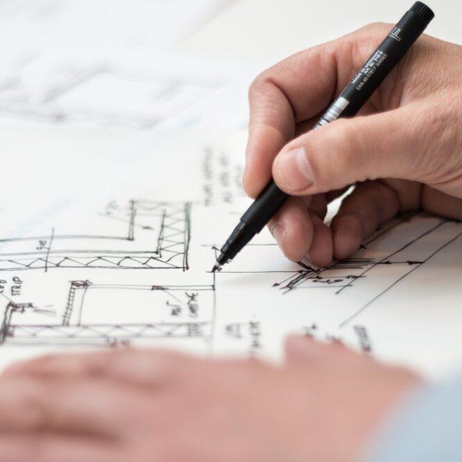 Byggritningar förklarade: konstruktions- och bygglovsritningar